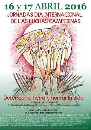 Cartel Lucha Campesina 2016_Baja