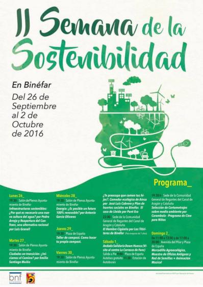 cartel_ii_semana_sostenibilidad_binefar