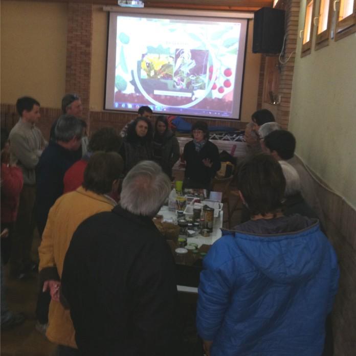Encuentro del grupo local del Somontano en Peraltilla