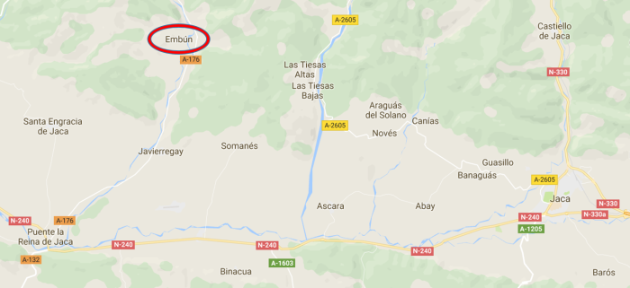 Mapa localización Embún_VIII FABA