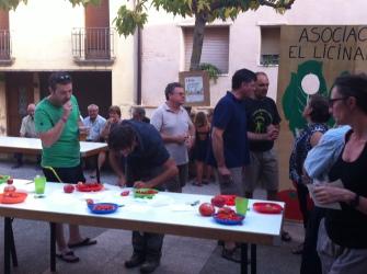 Muestra de hortalizas del Somontano.2_Peraltilla_Asoc. El Licinar_20170816