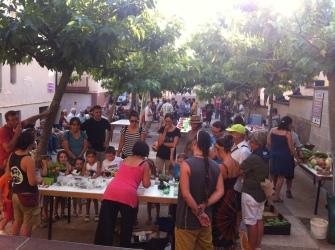 Muestra de hortalizas del Somontano_Peraltilla_Asoc. El Licinar_20170816