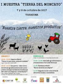 Cartel_I Muestra Tierra del Moncayo_2017100708