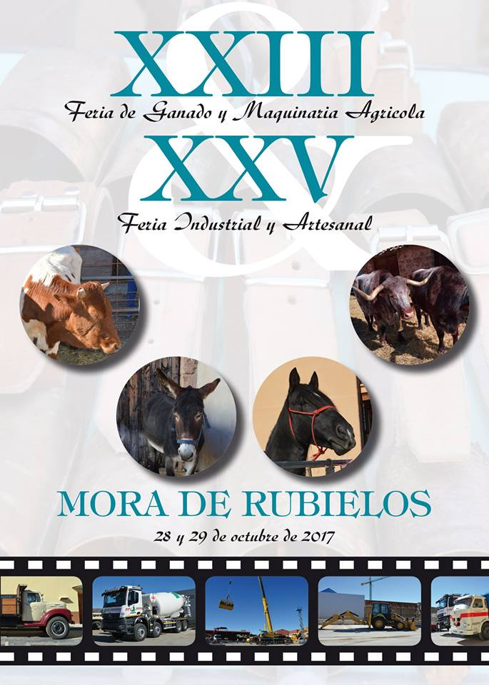 Cartel_XXIII Feria de Ganado y Maquinaria Agrícola, XXV Feria Industrial y Artesanal_2017102829